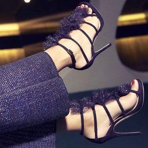 Jimmy Choo Tulle Heels